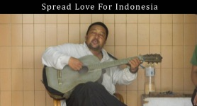 Spread love for Indonesia